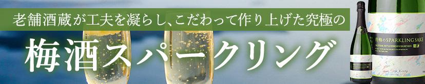 梅酒スパークリング